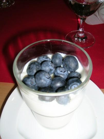 Dessert für den fruktosearmen Genuss