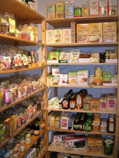 Einkaufen in der Biodüne auf Amrum. Gutes glutenfreies Angebot