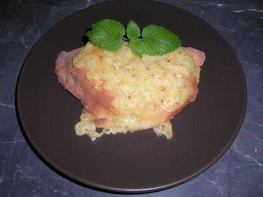 Mangold-Taschen und  aus der restlichen Füllung wird ein leckerer Salat