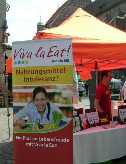 Viva la Eat am Gesundheitsmarkt 2013 in Nürnberg
