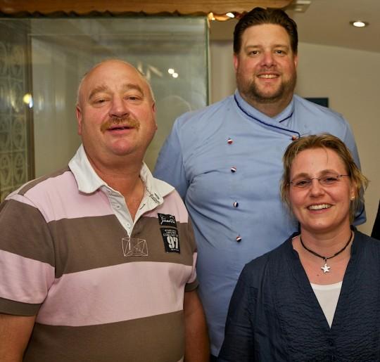 Klaus-Peter Ottens, Lars Eddelbüttel, Kerstin Biß (Viva la Eat)