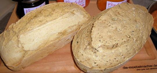 Weißbrot schnell selbst zubereiten