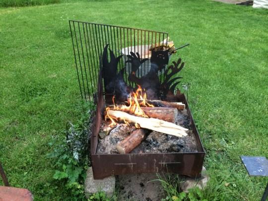 Gillvergnügen am Feuerteufel