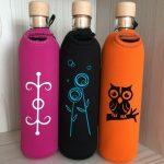 Gesundheit, Pusteblume und Eule - Flaska