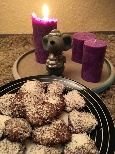 Schoko Hanf Kekse