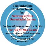 Hotline Unverträglichkeiten